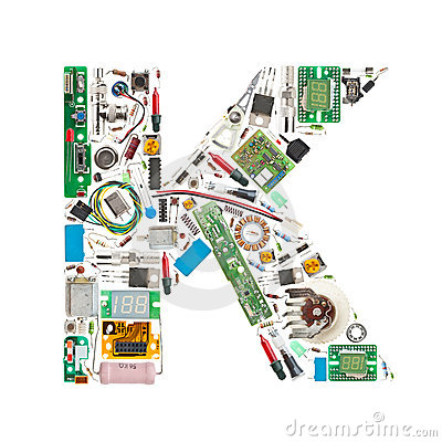 Electronic components letter
