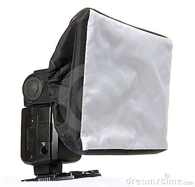 Electronic flash diffuser