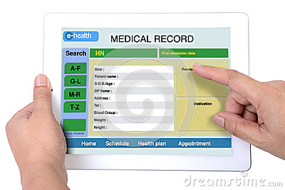 Electronic health system.