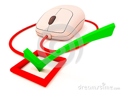 Electronic online voting