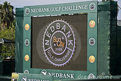 Electronic Scoreboard - NGC2008 Editorial Photography