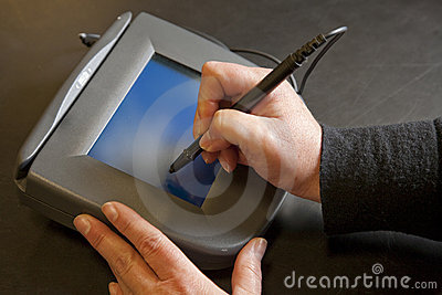 Electronic Signature Pad