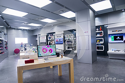 IT Electronic store Editorial Photography
