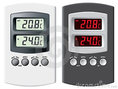 Electronic thermometer.