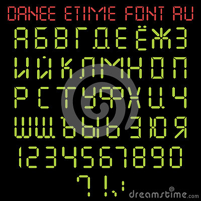Time In Russian Alphabet And 44