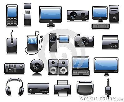 Electronics illustrations