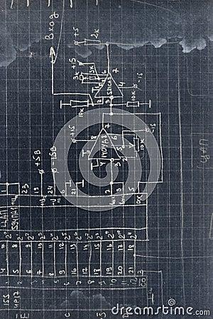 Electronics scheme