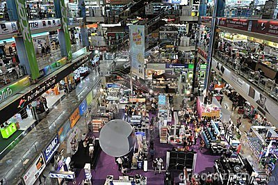 IT and Electronics Shopping Mall in Bangkok Editorial Photo