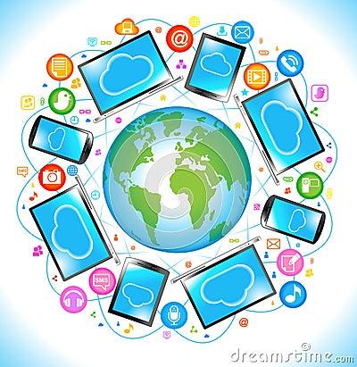 Electronics Social Media communication