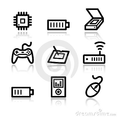 Electronics web icons 2