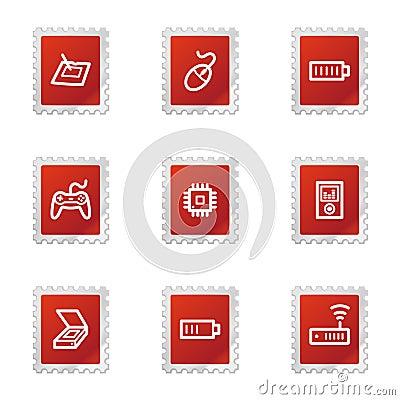 Electronics web icons set 2