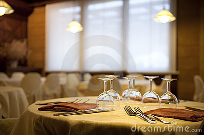 Elegan restaurant flatware