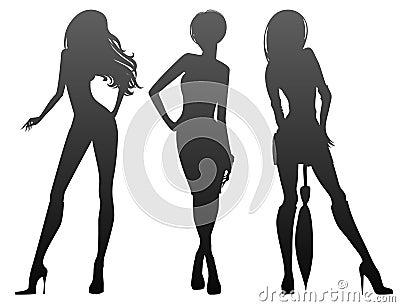 Elegance beauty girls