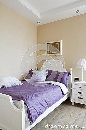 Elegance bedroom interior