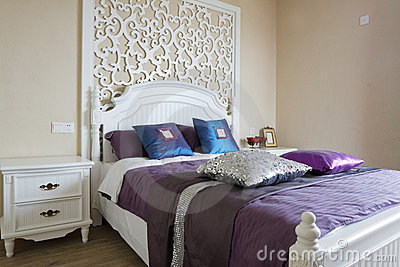 Elegance bedroom interior