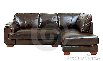 Elegance brown sofa