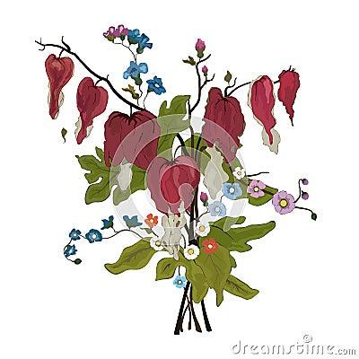 Elegance floral bouquet