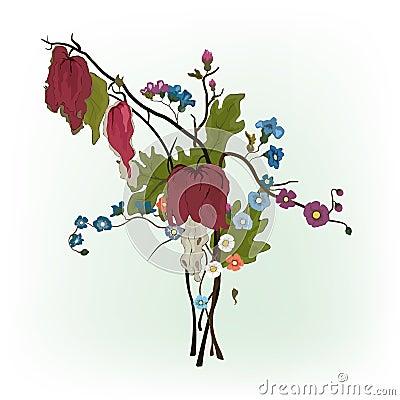 Elegance floral compozition