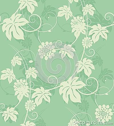 Elegance floral seamless.