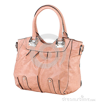 Elegance lady leather handbag