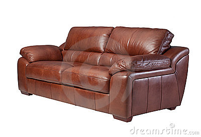 Elegance leather sofa