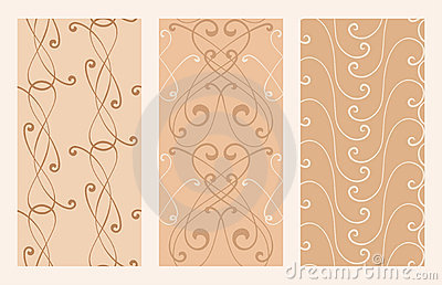 Elegance seamless backgrounds