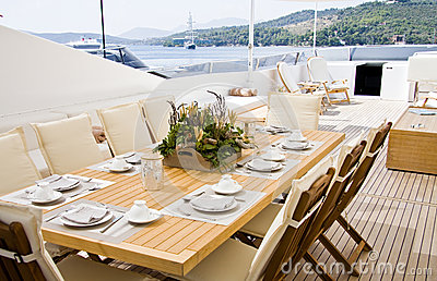 Elegance table outdoor