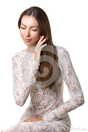 Elegance young woman