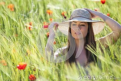 Elegancja w polu