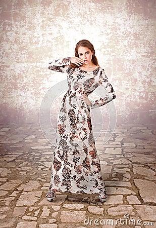 Elegancy stylish lady
