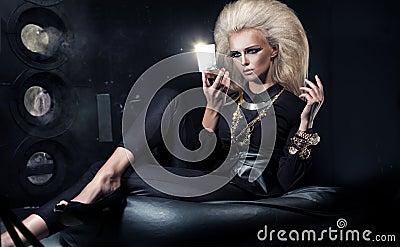 Eleganskvinna