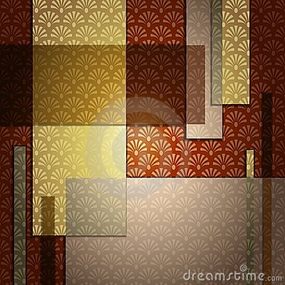 Elegant art deco Background