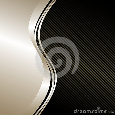 Free Elegant Background: Silver And Black. Stock Images - 28842584