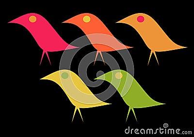 Elegant Birds