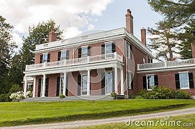 Elegant brick mansion