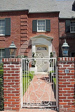 Elegant brick residence