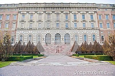 Elegant building facade