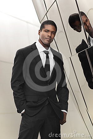 Elegant businessman