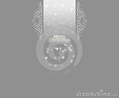 Elegant Christmas card background
