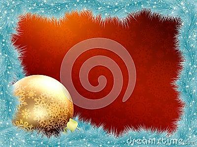 Elegant christmas card. EPS 8