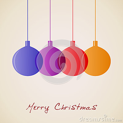 Elegant Christmas decoration background,