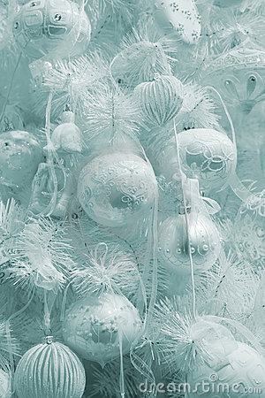 Elegant Christmas fur-tree