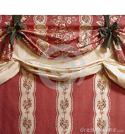 Elegant curtain fabric