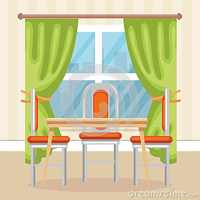 Free Elegant Dinning Room Scene Royalty Free Stock Image - 111146166