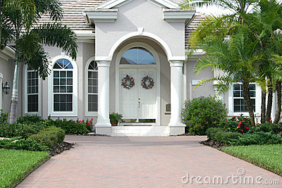 Elegant Entrance to Beautiful Home