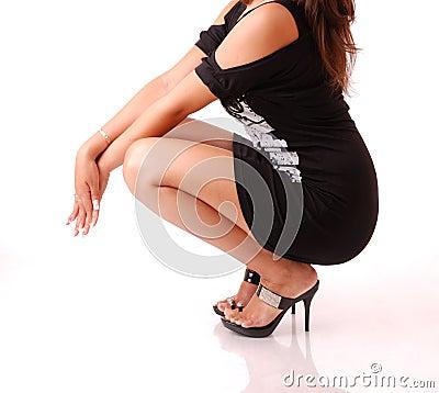 Elegant female body