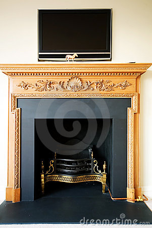 Free Elegant Fire Place Stock Photos - 4156653