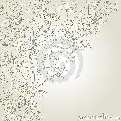 Elegant Floral Background Royalty Free Stock Photos