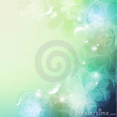Elegant  floral background,