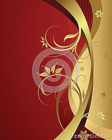 Free Elegant Floral Background Royalty Free Stock Photo - 4825845